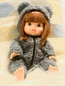 minikane dolly teddy suit