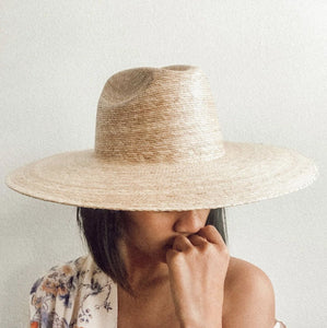 Western Wide Palma from Lack of Color | Women's Straw Hat