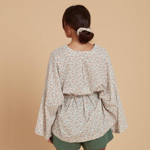 kaya wrap floral back