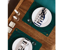 Load image into Gallery viewer, Placemat Ponyo - 2 Pcs/Pack - Dark Green