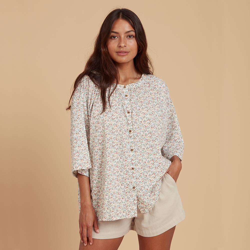 Load image into Gallery viewer, lilly pilly shirt vallet floral