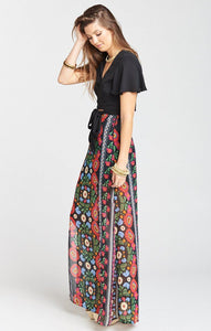 Mick Double Slit Skirt by Show Me Your Mumu