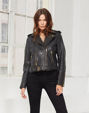 Load image into Gallery viewer, Noor Leather Jacket