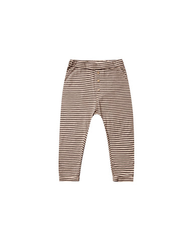Stripe Cru Pant - Oat/Black