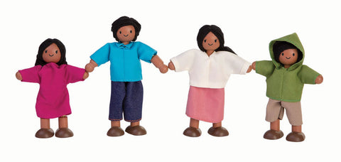 Plan Toys Doll Family (Mediterranean)