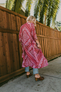 The Jane Robe - Ruby Calalily | Novella Royal Women's Kimonos