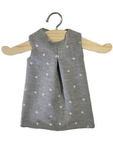 Minikane Amigas Dress - Grey