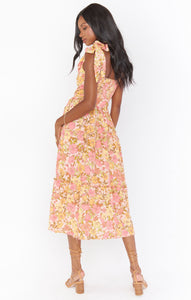 Toluca Midi Dress - Pretty Poppy | Show Me Your Mumu - Women's Clothing