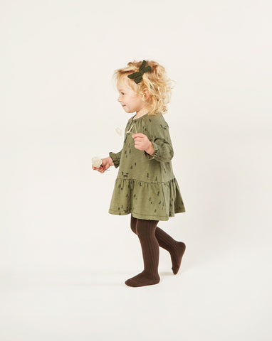 Woods Swing Dress - Forest