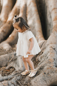 Sand Stripe Jane Blouse from Rylee and Cru for Kids