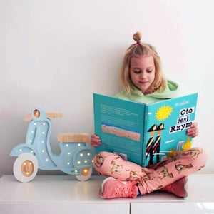 Little Lights Scooter Lamp | Kids Wooden Toys & Nursery Decor