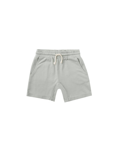 Terry Sweat Short Blue-Fog