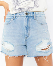 Load image into Gallery viewer, Phoenix Shorts - Cyprus Sea | Show Me Your Mumu - Women's Denim Shorts