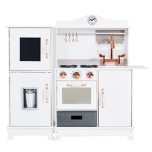 Load image into Gallery viewer, Little Chef Marseille Retro Play Kitchen - White | Teamson Kids - Play Kitchen + Food