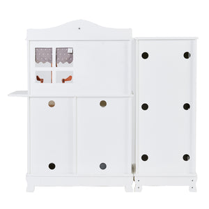Little Chef Marseille Retro Play Kitchen - White | Teamson Kids - Play Kitchen + Food