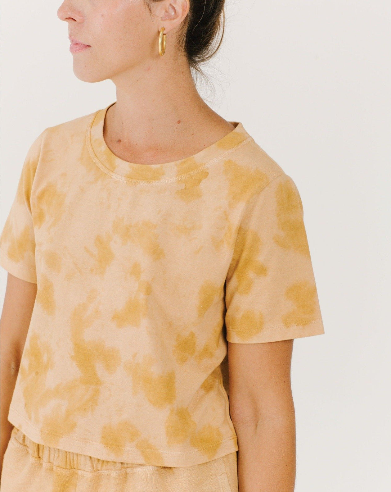 Cropped Tee - Bronze/Sunset | Bohemian Mama The Label - Women's Clothing