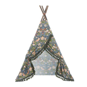 Tent of Dreams - Strawberry Thief - Green | DockATot Playroom Decor - Activity Tent