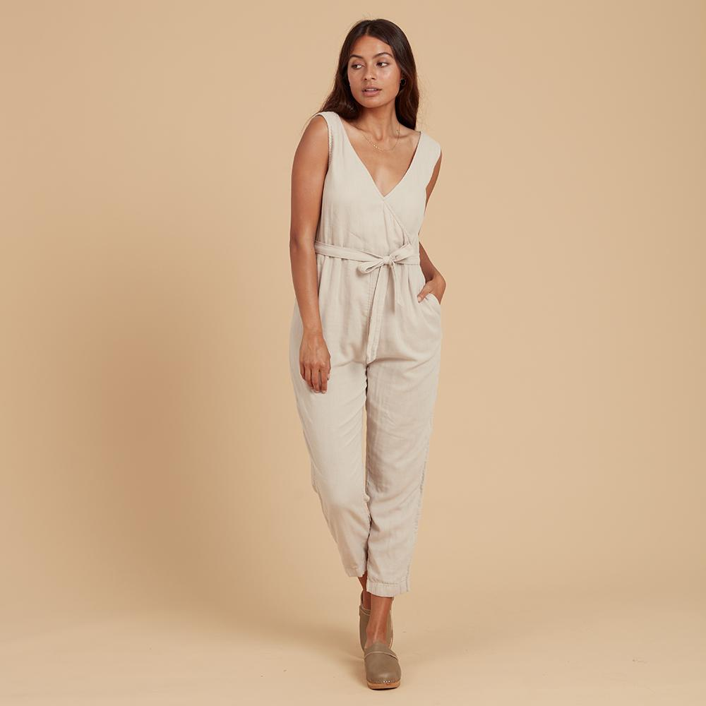 Load image into Gallery viewer, toulouse jumpsuit oat