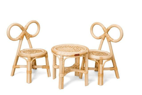 Poppie Mini Bow Chair- Set of two chairs