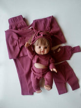 Load image into Gallery viewer, Minikane Dolly Vintage Rose Matching Set Size 1 2pc