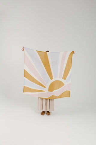Bohemian Mama Under The Sunshine Swaddle