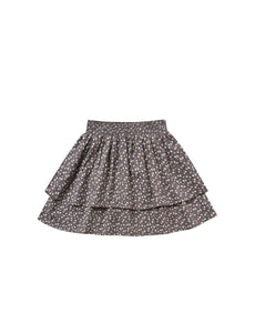 Ditsy Tiered Mini Skirt - Washed Indigo | Rylee & Cru Fall 2020 Enchanted Forest Collection