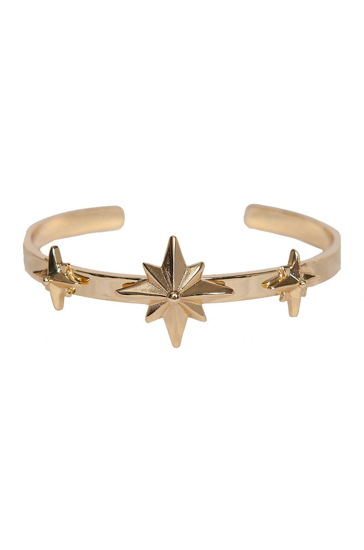 Wander Woman Arm Band in Gold by Ettika