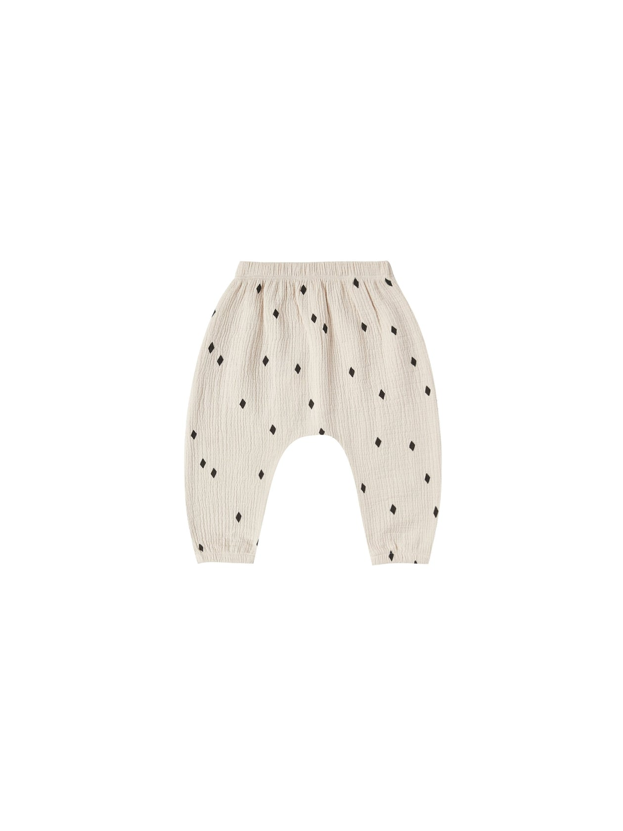 Quincy Mae Woven Harem Pant Natural