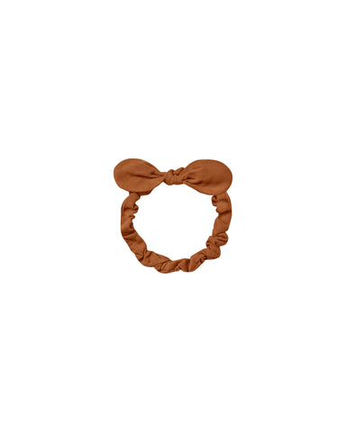 Baby Bow Headband - Cinnamon