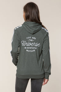 You Are The Universe Zip Hoodie by Spiritual Gangster