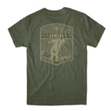 Choke Republic Armbar Flying Club Tee - BJJ Sports