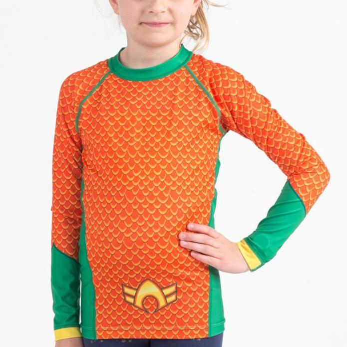 Fusion FG Aquaman L/S Kids Rash Guard - Fighters Market