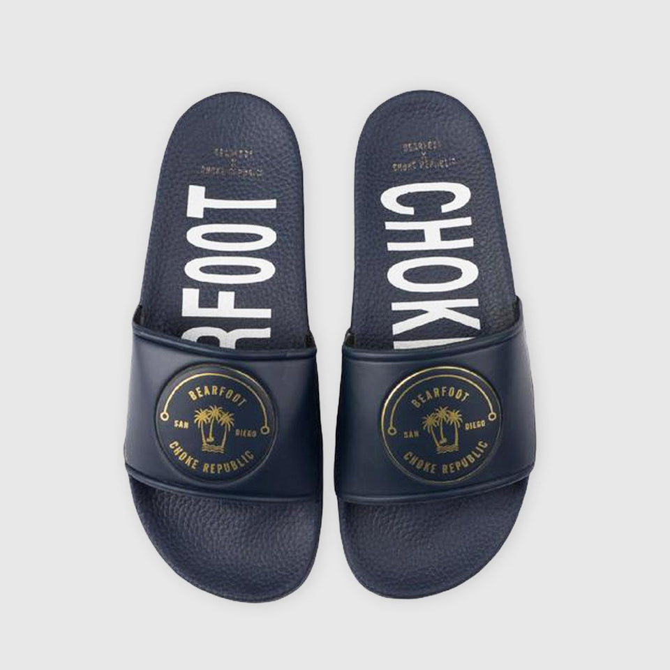 Bearfoot x Choke Republic Slides - Fighters Market