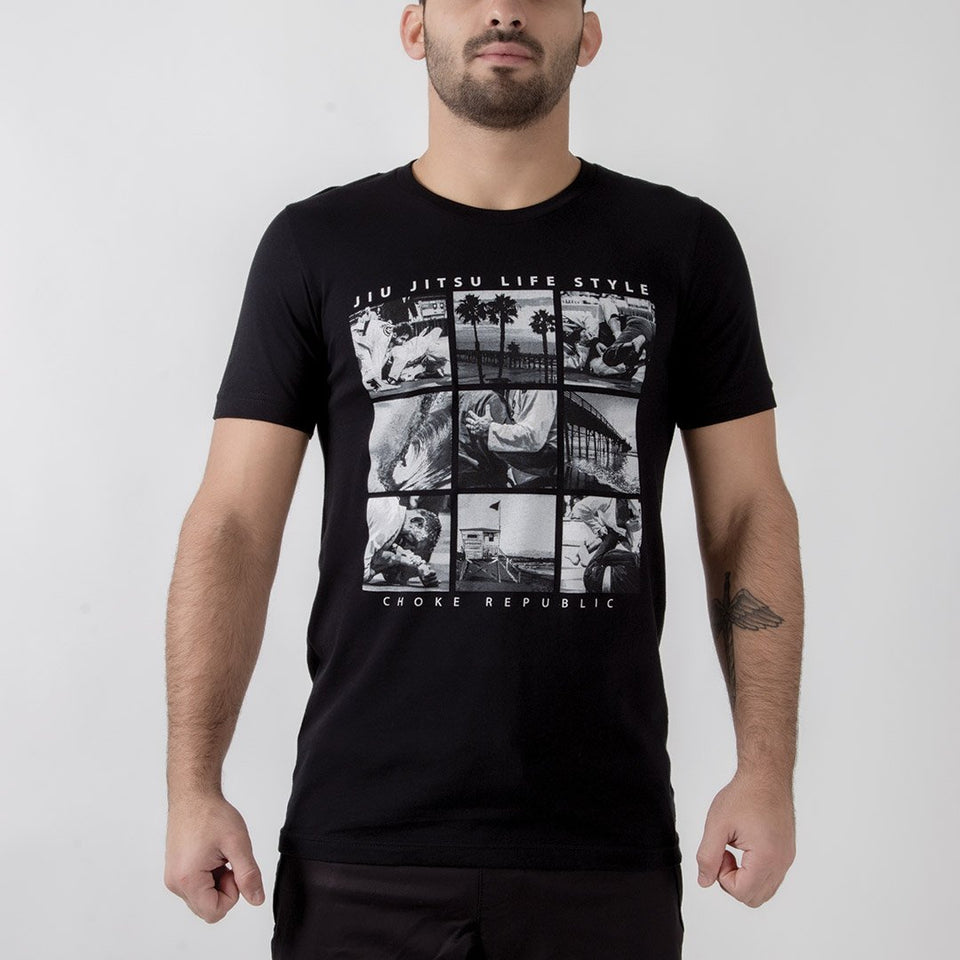 Choke Republic BJJ Lifestyle Tee - Fighters Market
