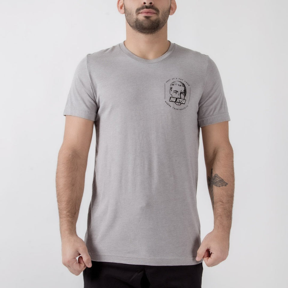 Choke Republic Jiu Jitsu Mouth Tee - Fighters Market