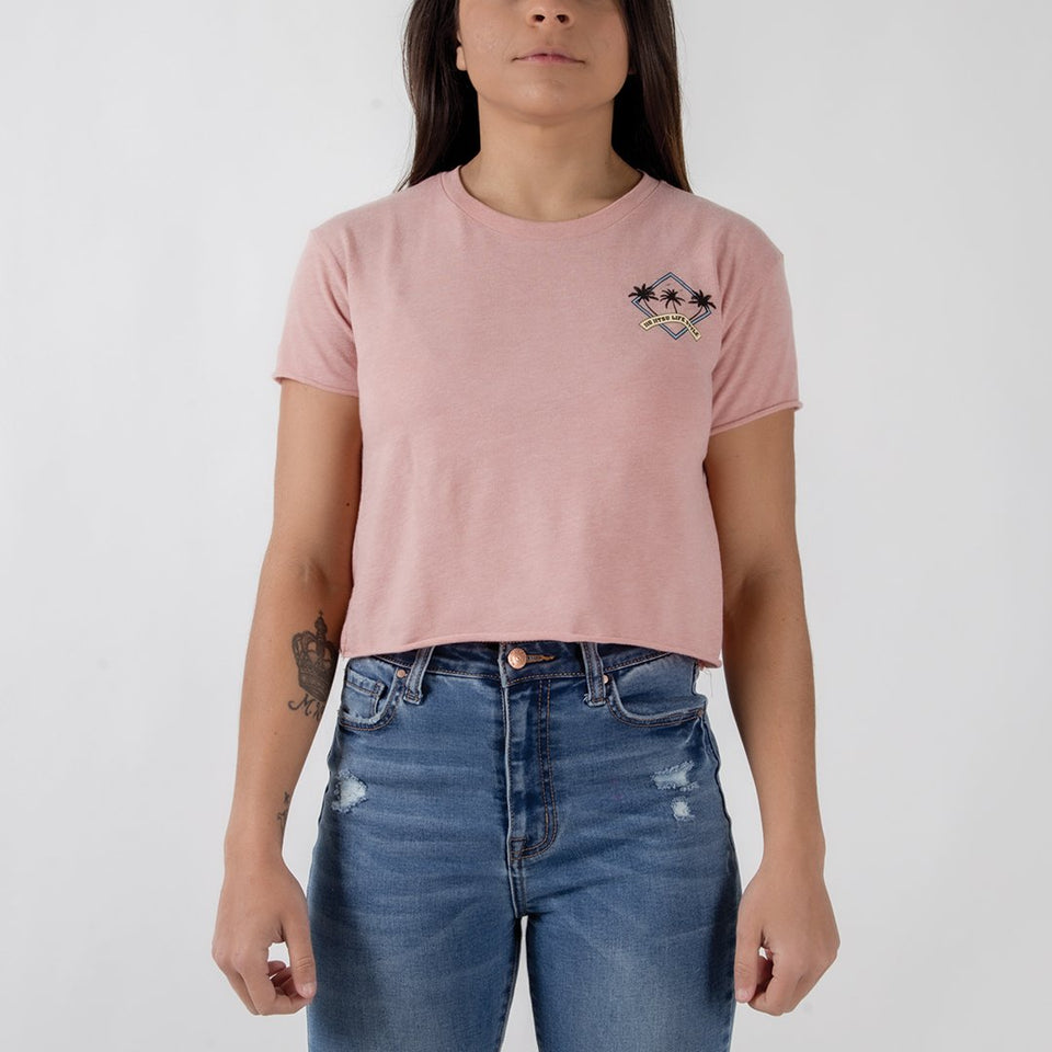 Choke Republic BJJ Palms Women's Crop Top - Fighters Market