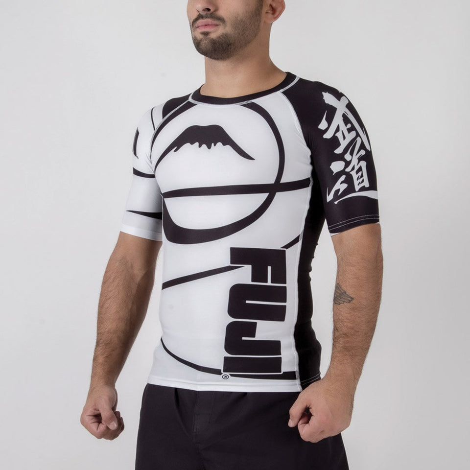 Fuji IBJJF Freestyle Short Sleeve Rash Guard - Fighters Market