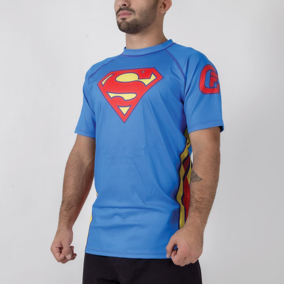 Fusion FG Superman Classic Logo Rash Guard - Fighters Market