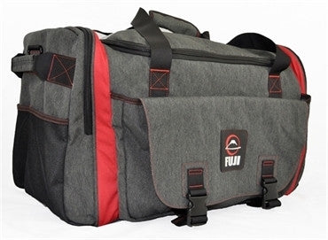 Fuji Sports High Capacity Duffle Bag - Gray - Fighters Market