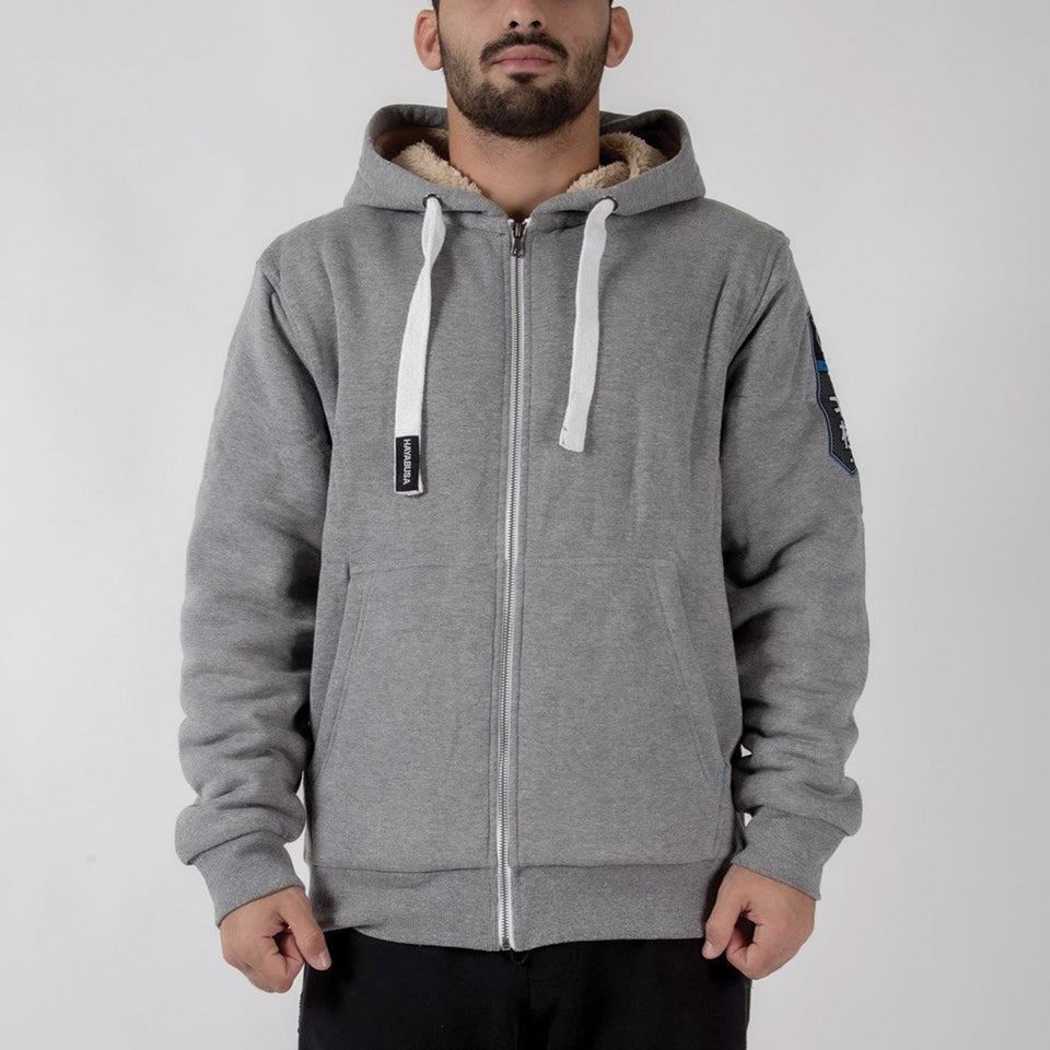 Hayabusa Heavyweight Zip Hoodie - Artic Series - Fighters Market