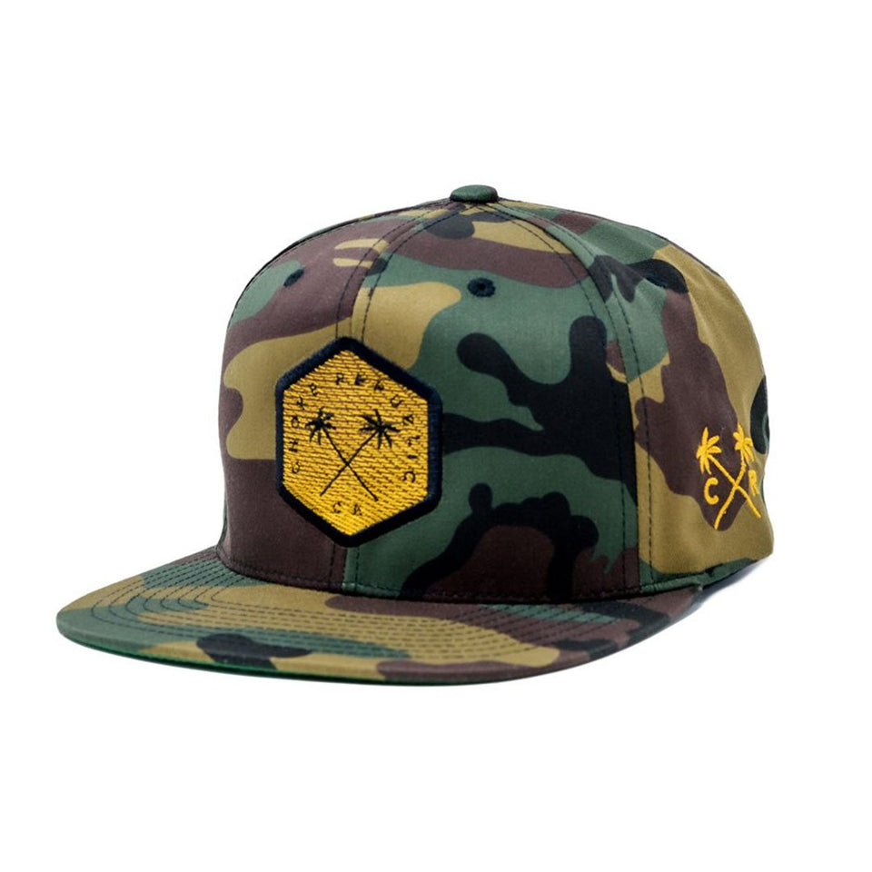 Choke Republic Iridescent Palms Snapback - Fighters Market