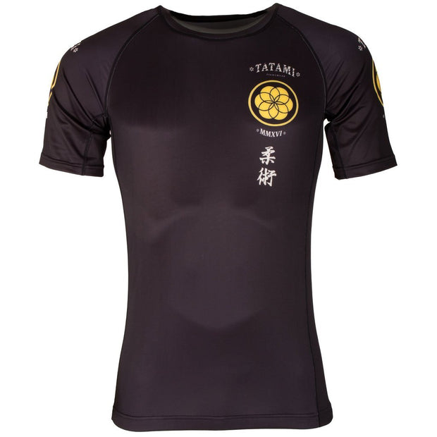 Tatami Kamon Short Sleeve Rash Guard