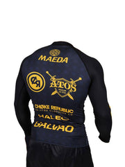 Maeda Raion L/S Limited Edition Rash Guard - Fight Version