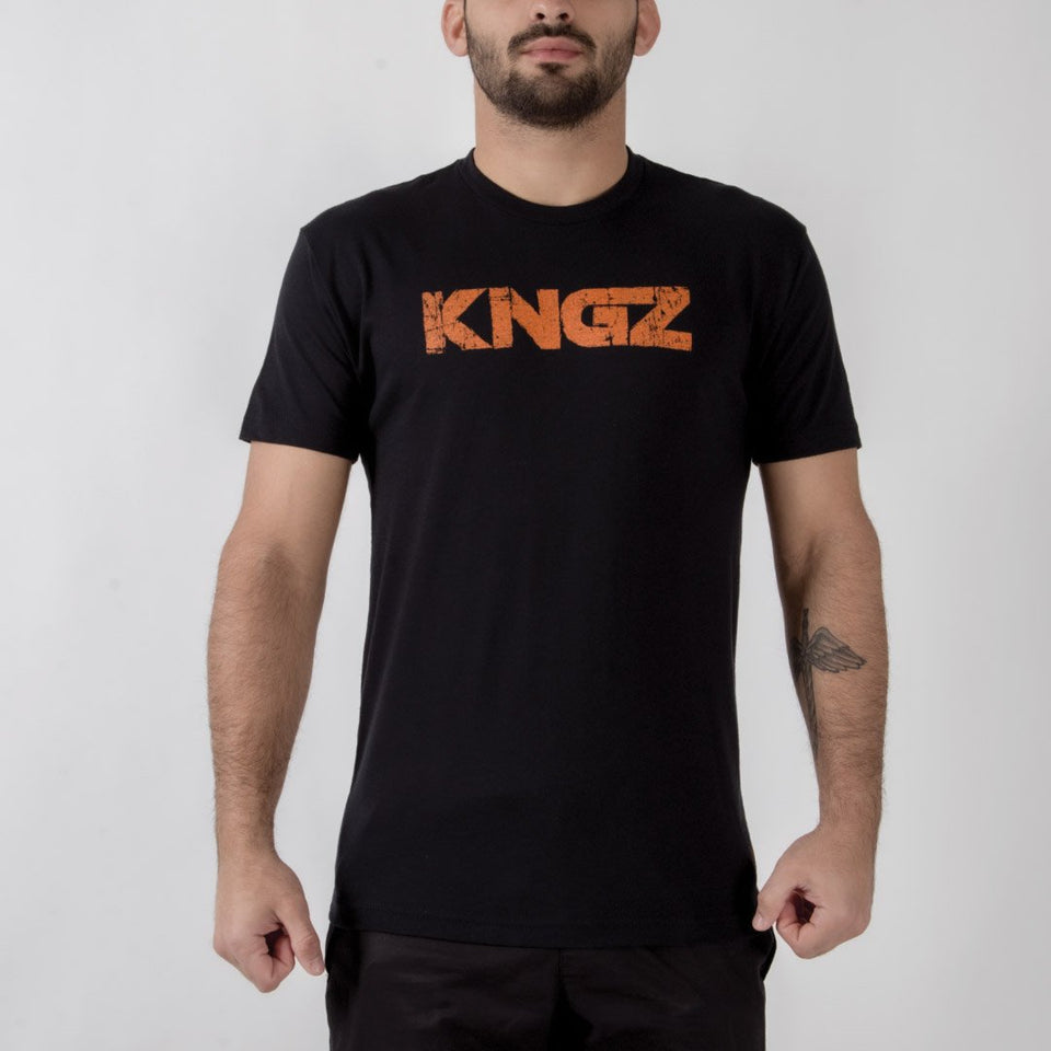 Kingz Battleworn Tee - Fighters Market
