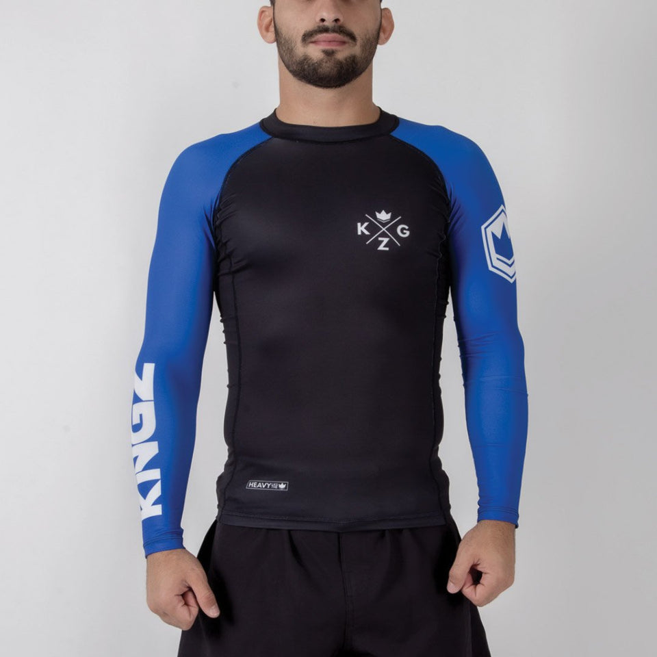 Kingz Ranked V3 L/S Rash Guard - Fighters Market