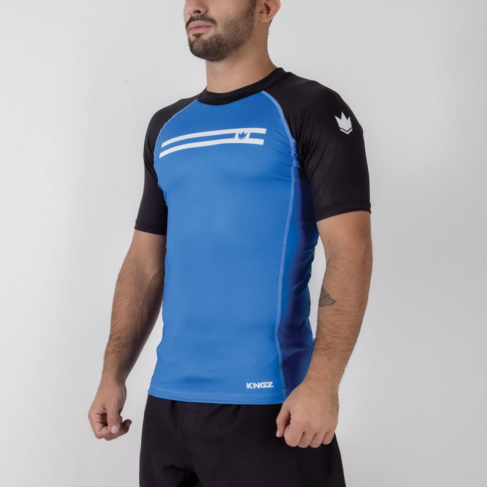 Kingz Sport Ranked S/S Rash Guard - Fighters Market