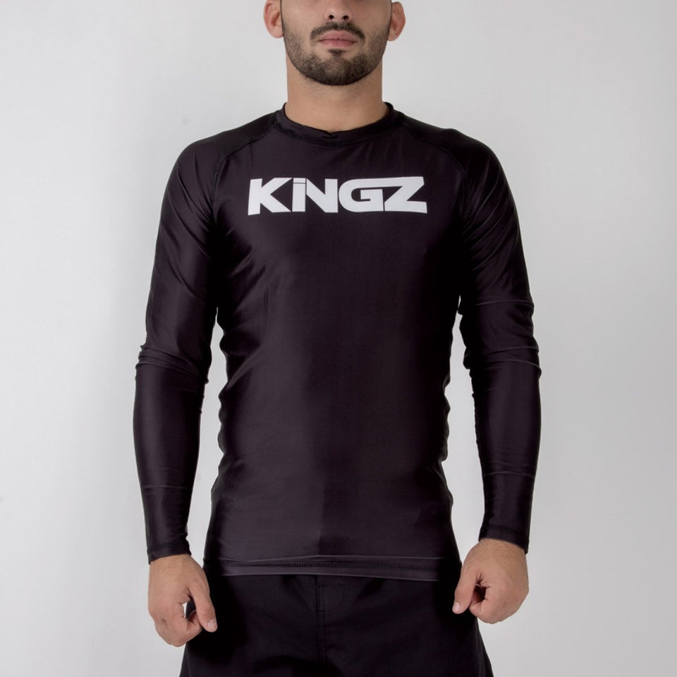 Kingz Traditional L/S Rash Guard - Fighters Market