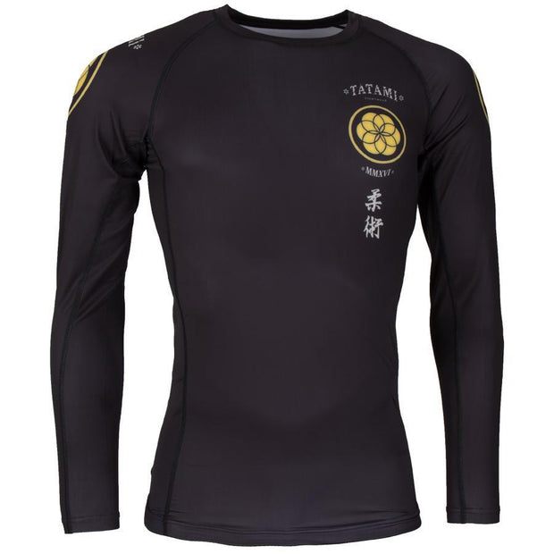 Tatami Kamon Long Sleeve Rash Guard