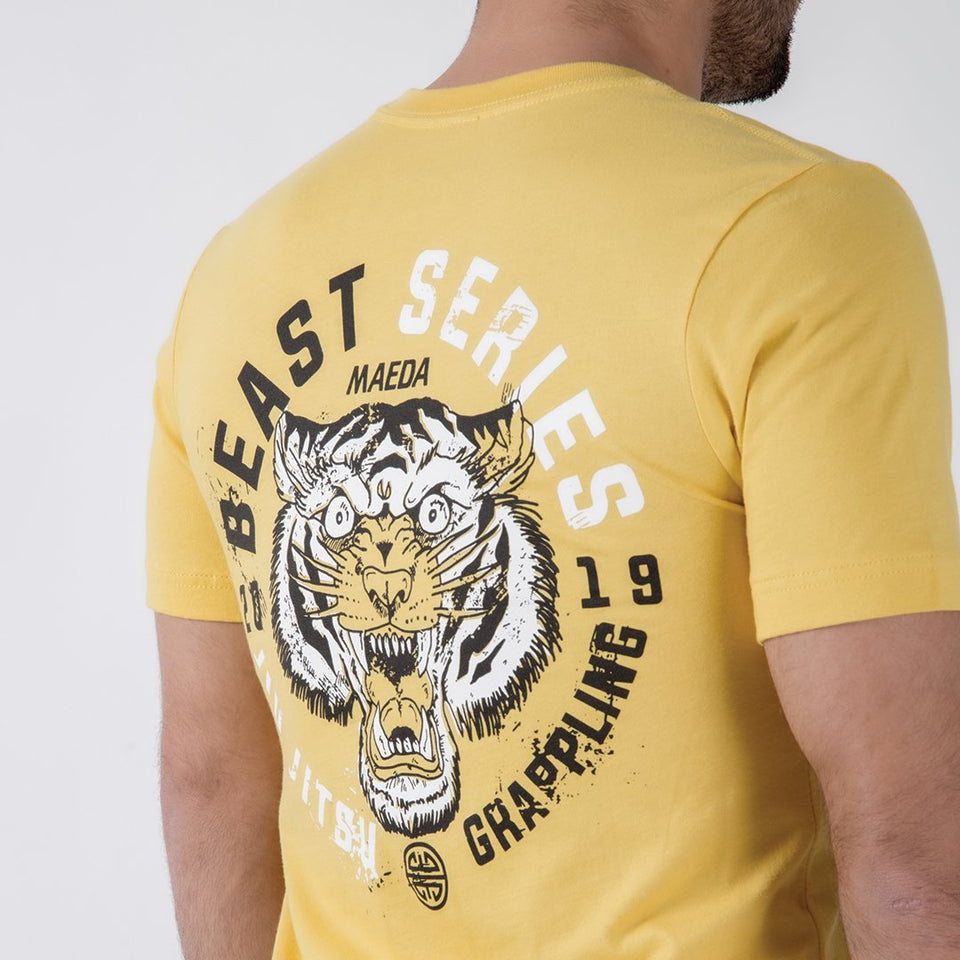 Maeda Brand Beast Series Tee - Tiger - Fighters Market