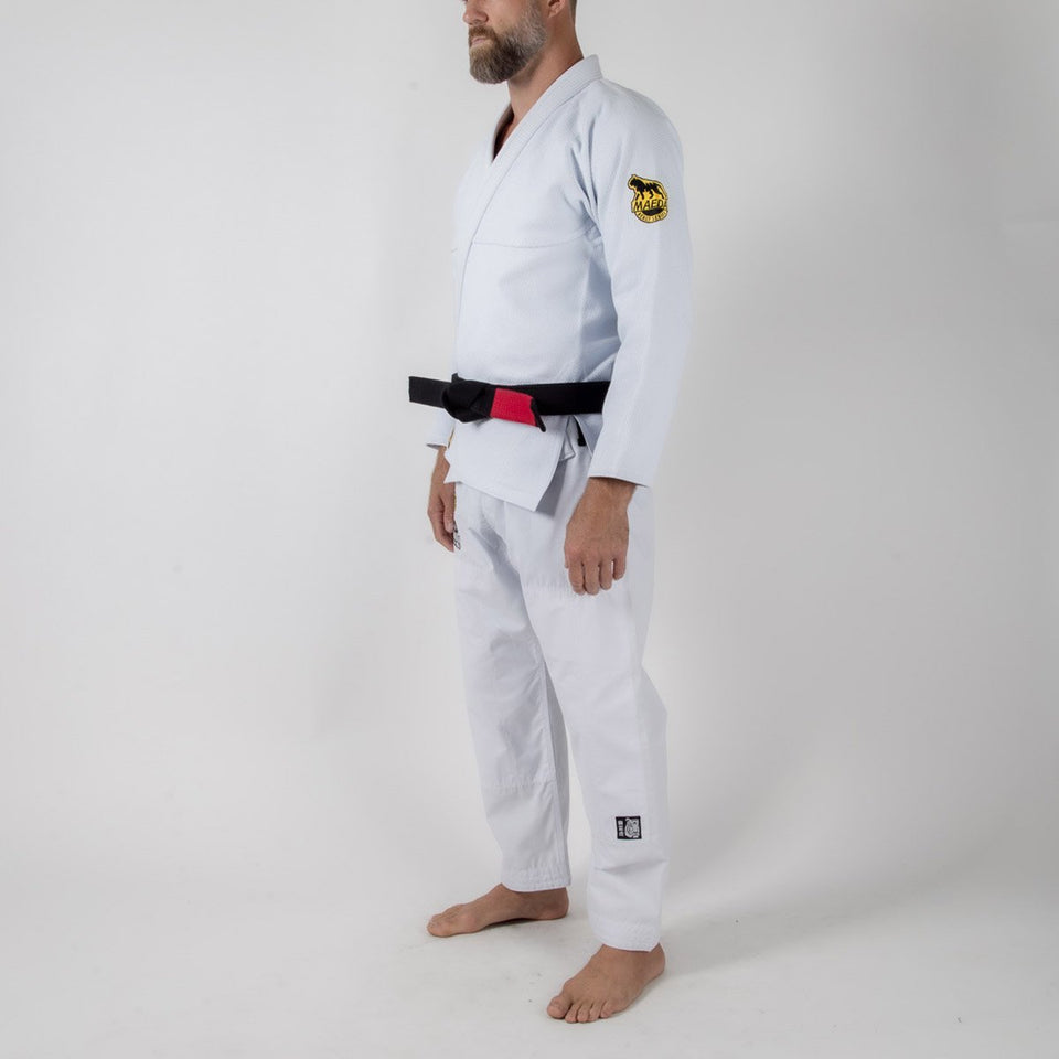 Maeda Beast Series White Tiger Gi - Fighters Market